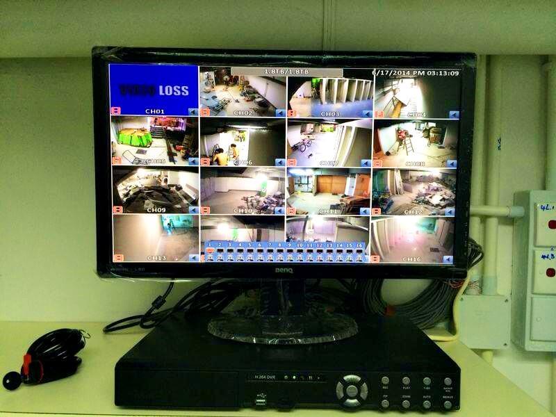 有24小時CCTV保護住!