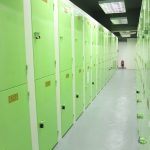The 141 lockers inside the bike storages carry special meaning